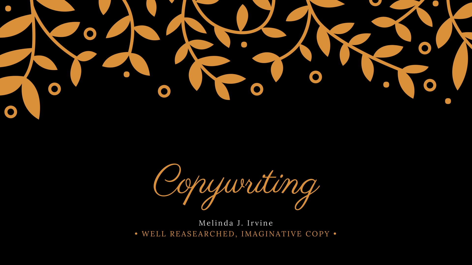 copywriting service If you've taken the time to seek out a professional copywriting service, you understand drucker's words and are ready to make your marketing matter it all starts with the connection your copywriter wants to help you connect you and your customers.