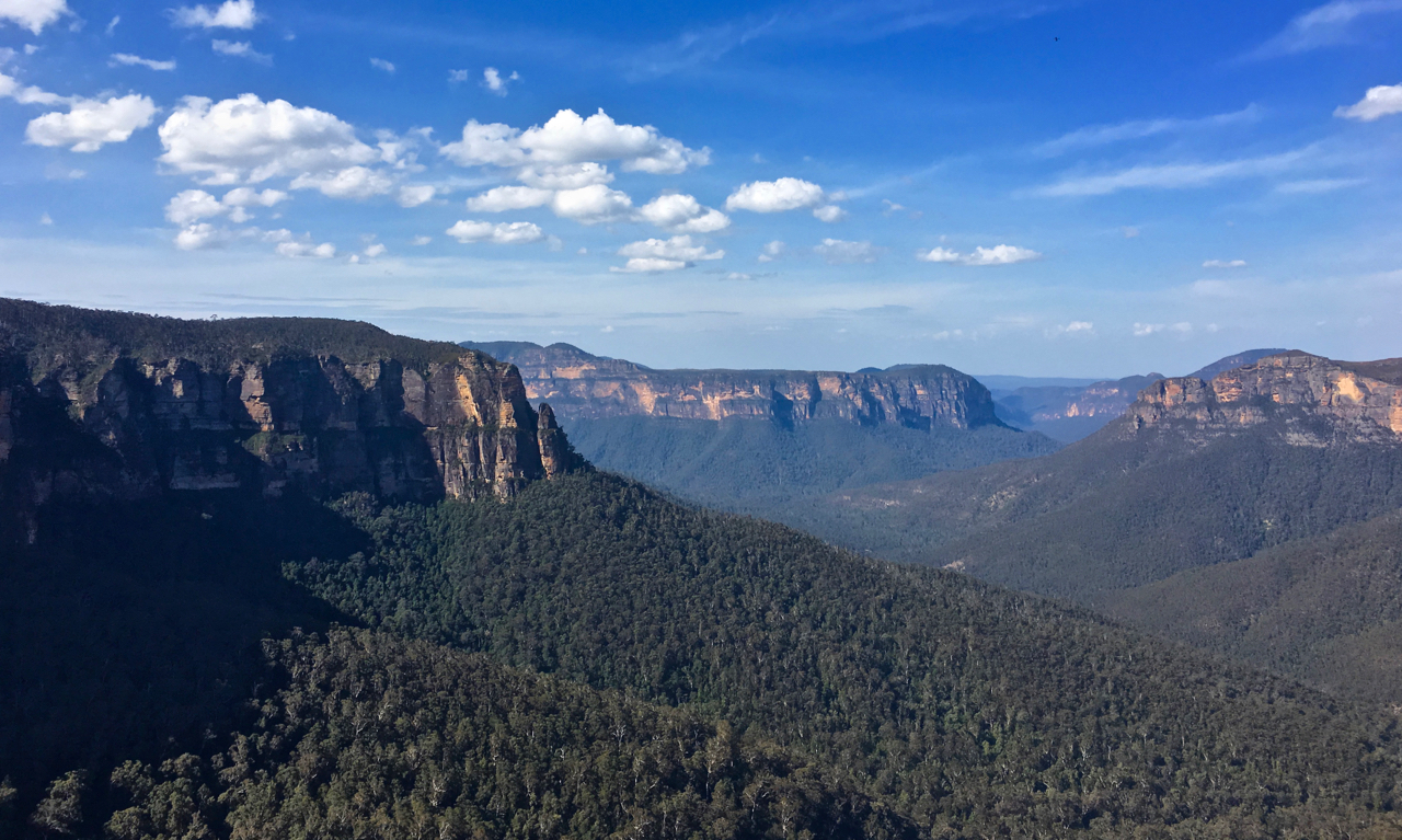 the ever popular blue mountains